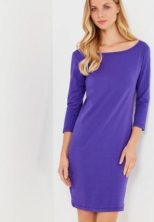Платье Твое. Цвет: фиолетовый