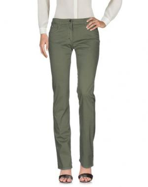 Повседневные брюки CANADIENS. Цвет: зеленый-милитари