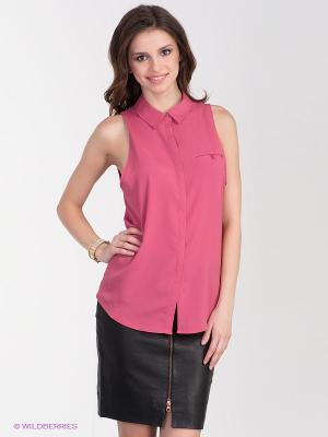 Блузка Gestuz. Цвет: розовый