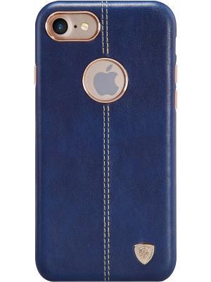 Накладка NillkinEnglon Leather Cover для Apple iPhone 7 Nillkin. Цвет: синий