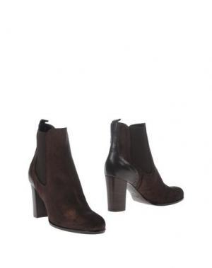 Полусапоги и высокие ботинки ANDREA CATINI. Цвет: темно-коричневый