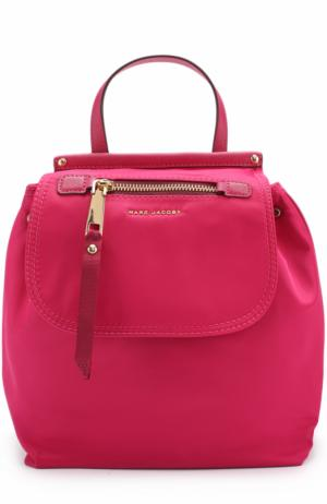 Текстильный рюкзак Trooper Marc Jacobs. Цвет: фуксия