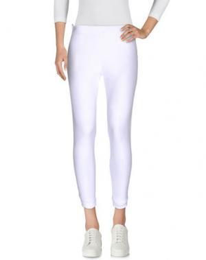 Повседневные брюки EAN 13. Цвет: белый