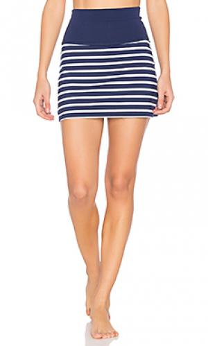 X kate spade sailing stripe high waisted skort Beyond Yoga. Цвет: синий