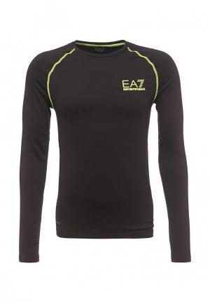 Термобелье EA7. Цвет: черный