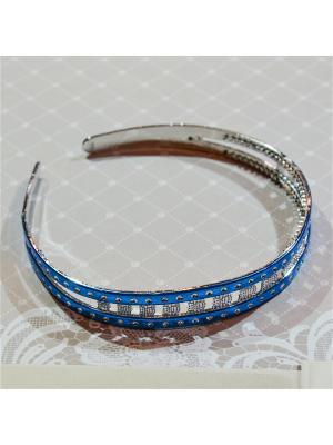 Ободок Bizon. Цвет: синий