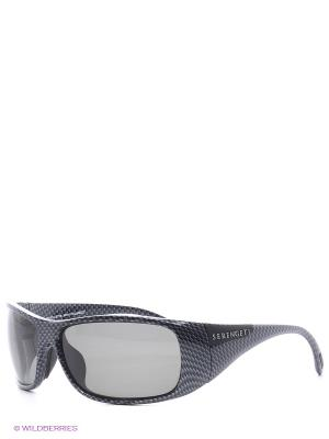 Солнцезащитные очки Serengeti. Цвет: темно-серый