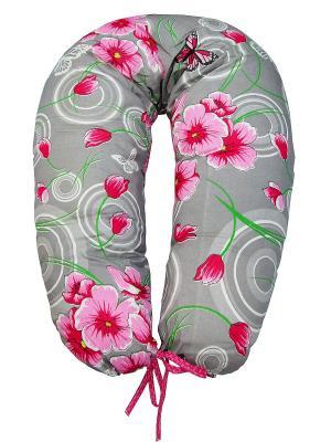 Подушка для беременных и кормящих ФЭСТ. Цвет: серый, зеленый, розовый