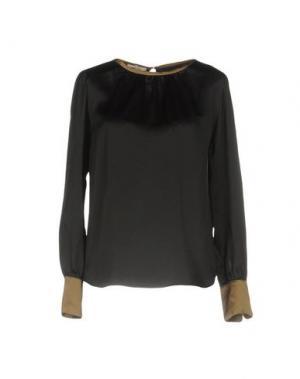 Блузка ZHELDA. Цвет: черный