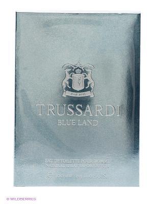Парфюмерная вода TRUSSARDI BLUE LAND EDT, 100ML. Цвет: голубой