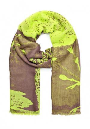 Палантин Labbra. Цвет: зеленый