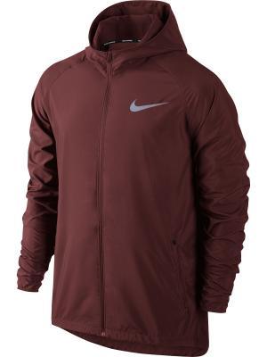 Куртка M NK ESSNTL JKT HD Nike. Цвет: красный