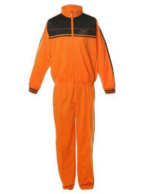 Костюм спортивный Montana. Цвет: черный, оранжевый