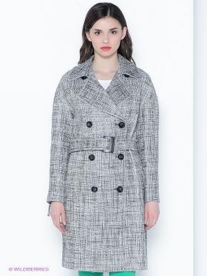 Пальто Sinequanone. Цвет: серый