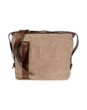 Дорожная сумка DSQUARED2. Цвет: песочный