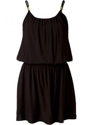 Платье на бретельках Heidi Klein. Цвет: чёрный