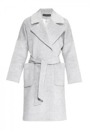 Пальто с поясом 161174 Anna Dubovitskaya