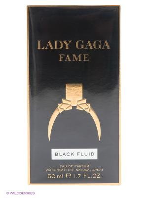 Туалетная вода Fame Lady Gaga, 50 мл GAGA. Цвет: черный