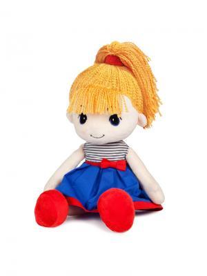 Кукла Стильняшка Блондинка, 40 см MAXITOYS. Цвет: темно-синий