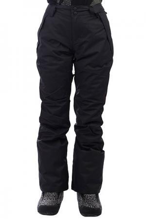Штаны сноубордические женские  Malla Black Billabong. Цвет: черный