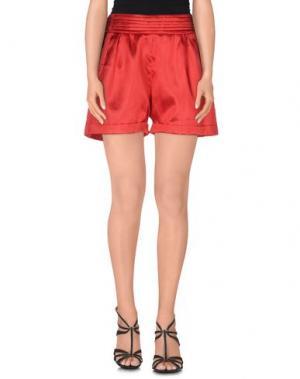 Повседневные шорты CIEL. Цвет: красный