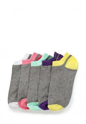 Комплект носков 5 пар OVS. Цвет: серый