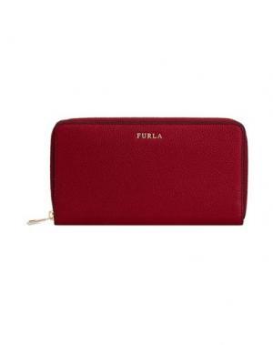Бумажник FURLA. Цвет: пурпурный