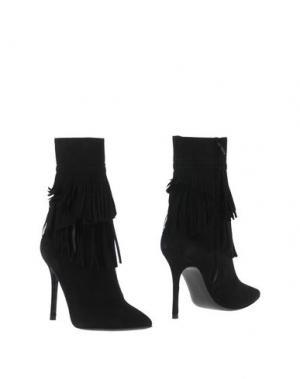 Полусапоги и высокие ботинки KATE. Цвет: черный