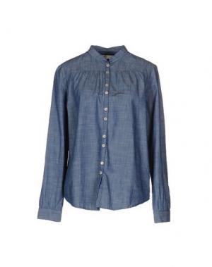 Pубашка LOCAL APPAREL. Цвет: синий