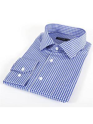 Рубашка Favourite. Цвет: синий