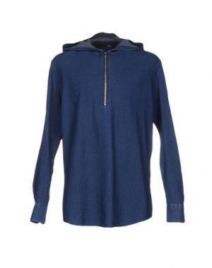 Pубашка DERRIÉRE. Цвет: синий