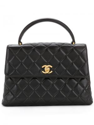 Quilted handbag Chanel Vintage. Цвет: чёрный