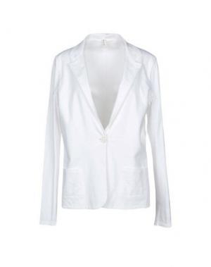 Пиджак WETPAINT. Цвет: белый