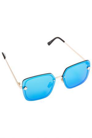 Очки Asavi Jewel. Цвет: голубой, черный, золотой