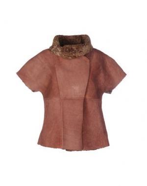 Куртка VINTAGE DE LUXE. Цвет: пастельно-розовый
