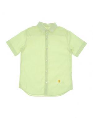 Pубашка MAURO GRIFONI KIDS. Цвет: желтый