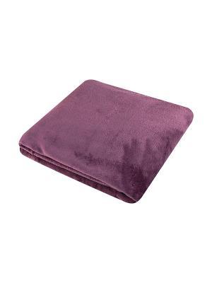 Плед Фиолетовый EL CASA. Цвет: фиолетовый