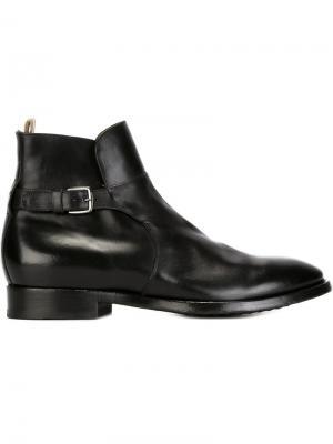 Ботинки по щиколотку Princenton Officine Creative. Цвет: чёрный