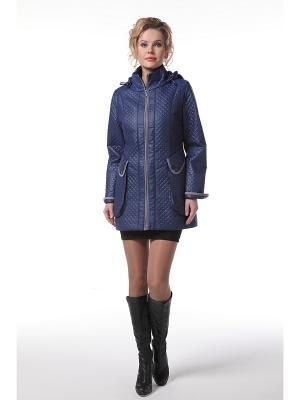 Куртка DizzyWay. Цвет: синий