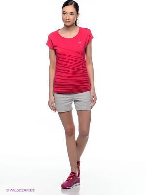 Шорты ESS Sweat 4 Shorts Puma. Цвет: серый меланж