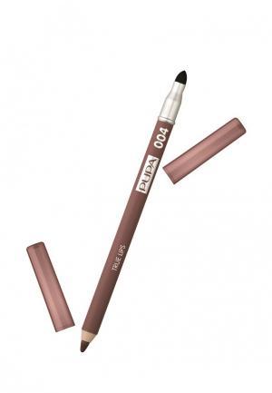 Карандаш для губ Pupa. Цвет: коричневый