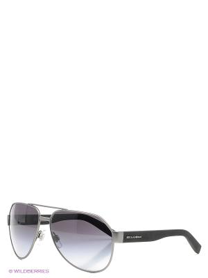 Очки солнцезащитные DOLCE & GABBANA. Цвет: серый, бронзовый, серый меланж