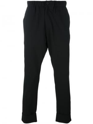 Зауженные брюки 424 Fairfax. Цвет: чёрный