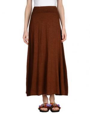 Длинная юбка LABO.ART. Цвет: коричневый