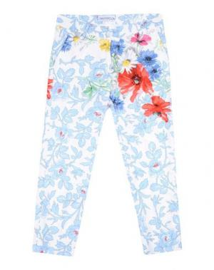 Повседневные брюки SIMONETTA. Цвет: белый