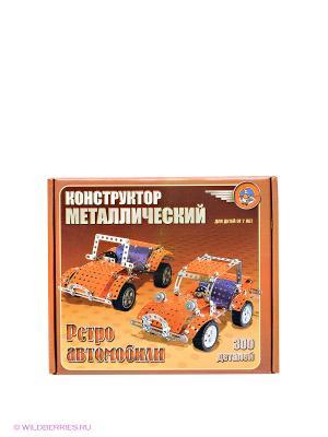 Конструктор Ретро-авто Десятое королевство. Цвет: оранжевый