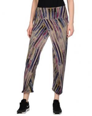 Повседневные брюки WEARGRACE. Цвет: голубиный серый