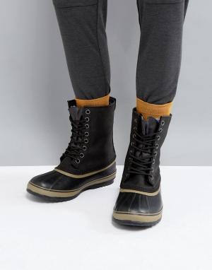 Sorel Непромокаемые ботинки Premium. Цвет: черный