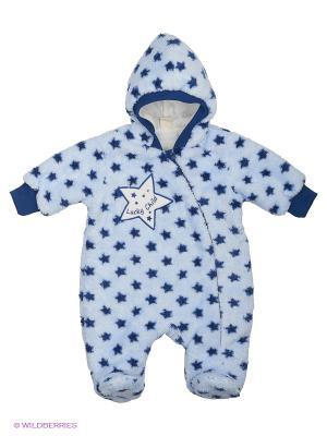 Комбинезон Lucky Child. Цвет: голубой, синий