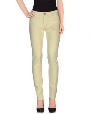Повседневные брюки SET. Цвет: желтый